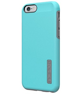 iPhone 6 Case, Incipio [Shock Absorbing] DualPro Case for iPhone 6-Light Blue/Cool Gray