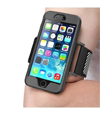 iPhone 6 Plus Armband , SUPCASE **SPORT RUNNING** Apple iPhone 6 Plus Armband 5.5 inch Easy Fitting Sport Running Armband with Premium Flexible Case