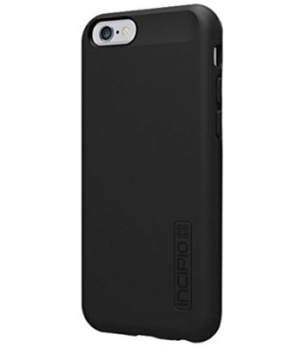 iPhone 6 Case, Incipio [Shock Absorbing] DualPro Case for iPhone 6-Black/Black