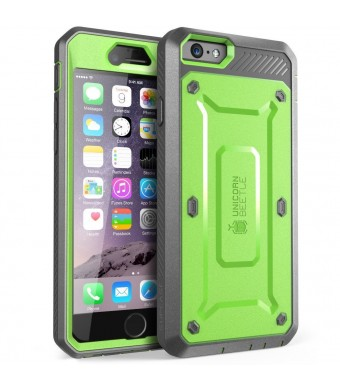 iPhone 6 Case, SUPCASE [Heavy Duty] Full-body Belt Clip Holster Case for Apple iPhone 6 4.7 inch [Unicorn Beetle PRO Series] with Built-in Screen Pro