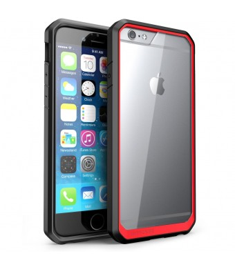iPhone 6 Plus Case, SUPCASE Apple iPhone 6 Plus Case Unicorn Beetle Premium Hybrid Protective Bumper Case for iPhone 6 Plus 5.5 inch (Clear + Red + B