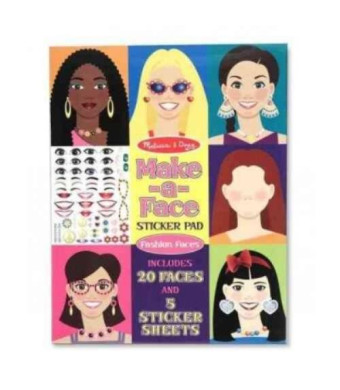 Melissa and Doug Make-A-Face Sticker Pad