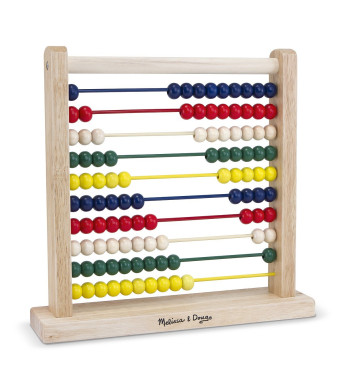 Melissa and Doug Classic Wooden Abacus