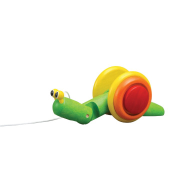 Plan Toy Pull-Along Snail