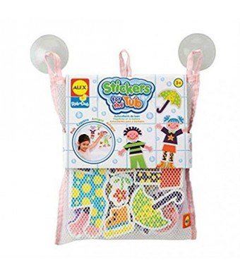 ALEX Toys Bathtime Fun Stickers For The Tub - Playtime Pals 634W