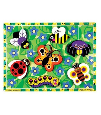 Melissa and Doug Insects Wooden Chunky Puzzle