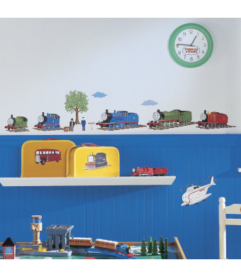 RoomMates RMK1035SCS Thomas The Tank Engine and Friends Peel and Stick Wall Decals