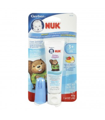 NUK Infant Tooth and Gum Cleanser, 1.4 Ounce