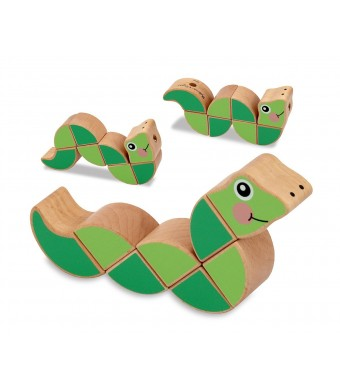 Melissa and Doug Wiggling Worm Grasping Toy