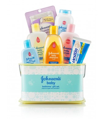 Johnson's Bathtime Essentials Gift Set - Packaging May Vary