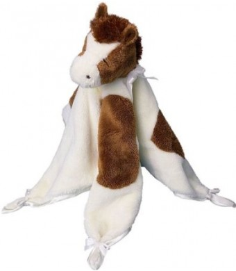 """Spotted Brown Horse Lil Snugglers 13""""  by Douglas Cuddle Toys"""