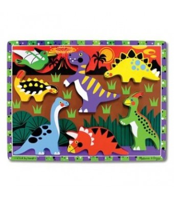 Melissa and Doug Dinosaur Chunky Puzzle
