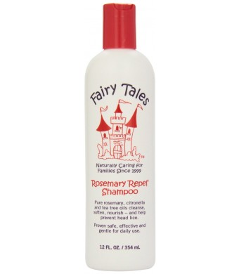 Fairy Tales Repel Shampoo, Rosemary, 12 Fluid Ounce