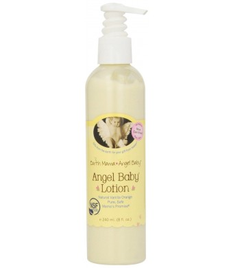 Earth Mama Angel Baby Angel Baby Lotion, 8-Ounce Bottle