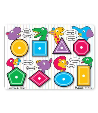 Melissa and Doug Shapes Peg