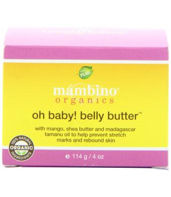 Mambino Organics Belly Butter, 4 Ounce
