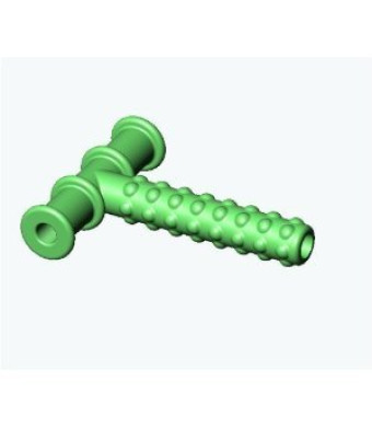 Knobby Texture Chewy Tube Green