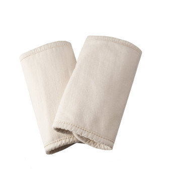 Ergobaby Organic Cotton Fabric Teething Pads, Natural