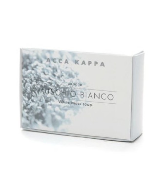 ACCA KAPPA Vegetable Soap, White Moss 5.3 oz (150 g)