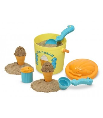 Melissa and Doug Sunny Patch Speck Seahorse Sand Ice Cream Set