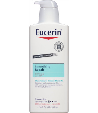Eucerin Smoothing Repair Dry Skin Lotion, 16.9 Ounce Bottle