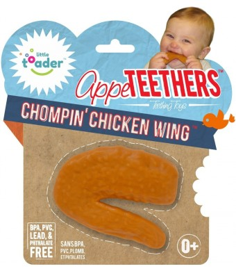 Little Toader Teething Toys, Chompin Chicken Wing