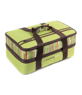 Rachael Ray Expandable Lasagna Lugger, Green