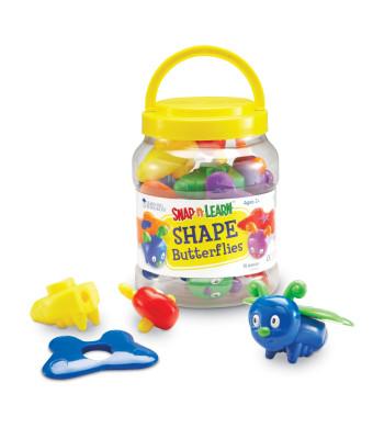 Learning Resources Snap-n-Learn Shape Butterflies