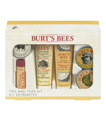 Burt's Bees Tips and Toes Kit, Holiday Gift Set