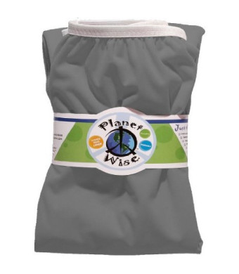 Planet Wise Reusable Diaper Pail Liner, Slate