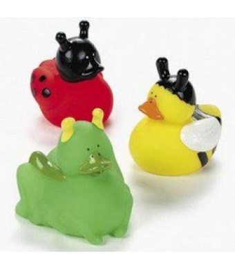 12 Insect Rubber Duckies