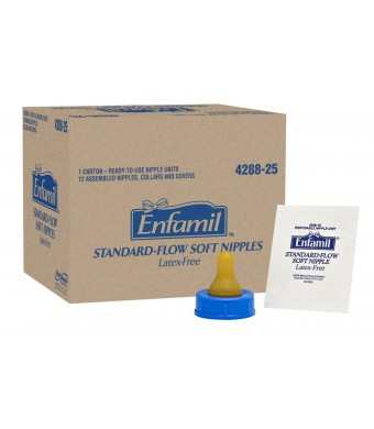 Enfamil Standard Flow Soft Nipple, 12 Count
