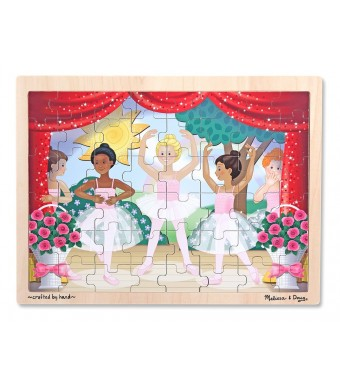 Melissa and Doug Ballet Performance Wooden Jigsaw Puzzle (48 Pieces)