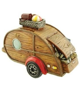 Camper Coin Bank, 6.5-inch