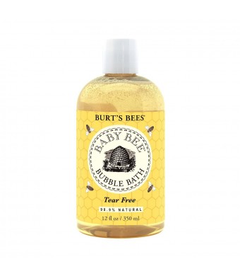Burt's Bees Baby Bee Bubble Bath, 12 Fluid Ounces (Pack of 3)