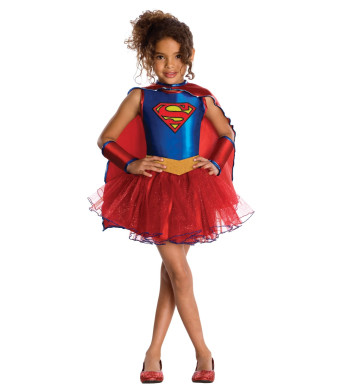 Justice League Child's Supergirl Tutu Dress - Medium