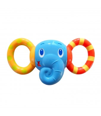 Bright Starts Ele-Friend Twist and Rattle (Discontinued by Manufacturer)