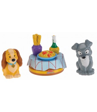 Fisher-Price Little People Disney Movie Moments: Lady and The Tramp