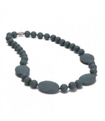 Chewbeads Necklace - Perry Necklace - Stormy Grey