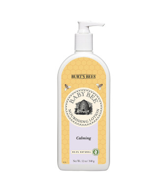 Burt's Bees Baby Bee Calming Lotion, 12 Ounces
