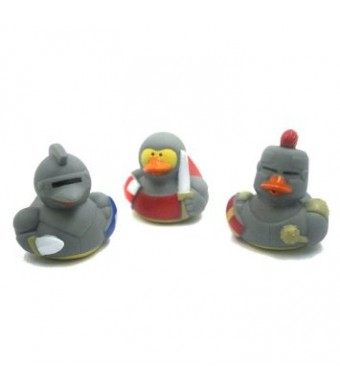 Medieval Rubber Ducks -12 ct