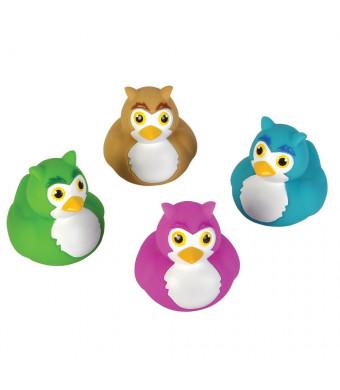 Owl Rubber Duckys - 12 pc