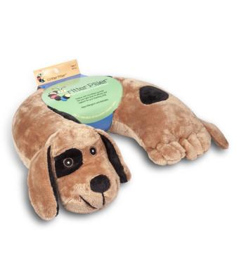 Critter Piller Kid's Neck Pillow, Brown Dog