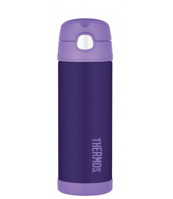 Thermos 16 Ounce Funtainer Bottle, Purple