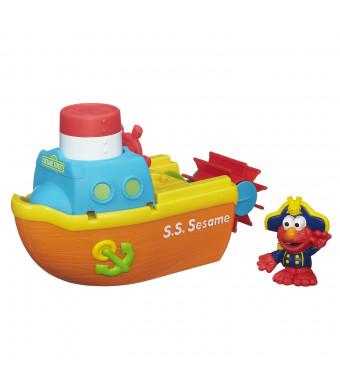 Playskool Sesame Street Elmo Bath Adventure Steamboat Toy