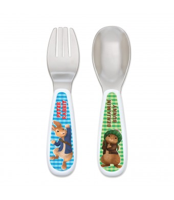NUK Peter Rabbit Fork and Spoon Set