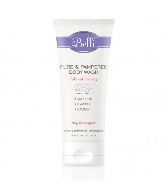 Belli Pure and Pampered Body Wash- 6.5 oz