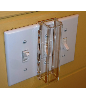Child Proof Light Switch Guard - For Standard Toggle Style Light Switch