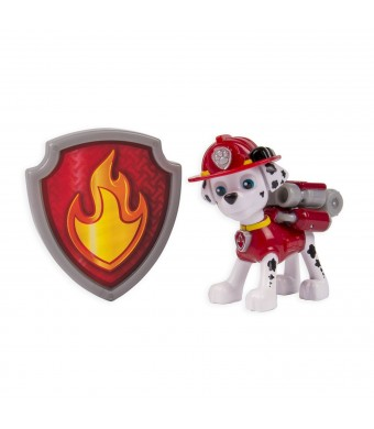 Nickelodeon, Paw Patrol - Action Pack Pup and Badge - Marshall