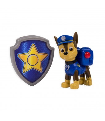 Nickelodeon, Paw Patrol - Action Pack Pup and Badge - Chase